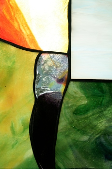7x11 Stained Glass Panel